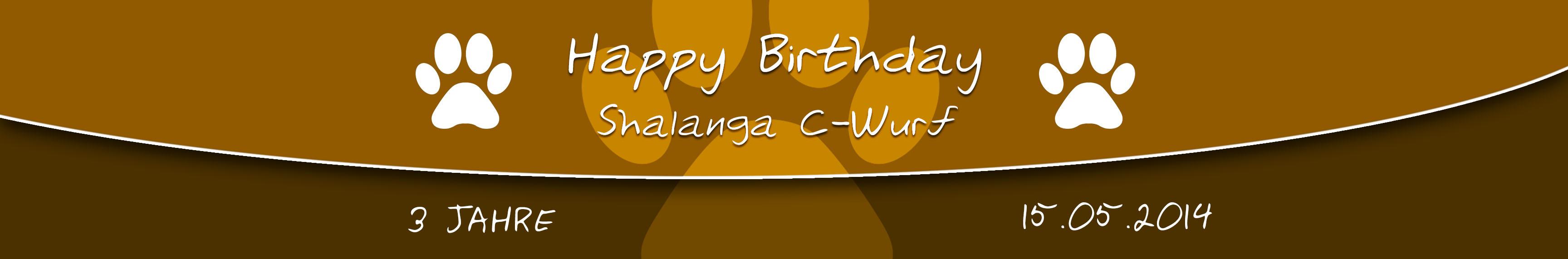 3. Geburtstag des C-Wurf